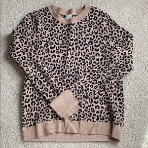 Cheetah long sleeve. Worn once.
